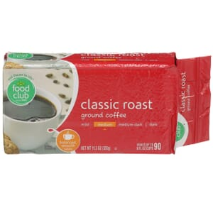 Ground Coffee - Classic Roast, Medium