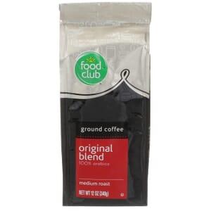Ground Coffee - Original Blend, 100% Arabica, Medium Roast