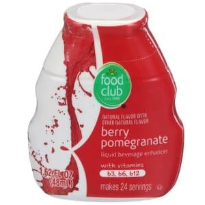 Berry Pomegranate Liquid Beverage Enhancer