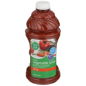 100% Vegetable Juice, Spicy