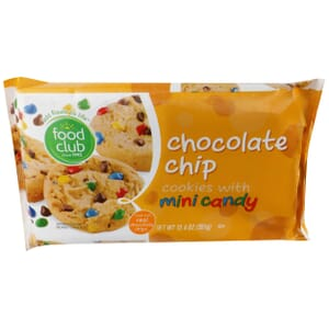 Chocolate Chip Cookies With Mini Candy