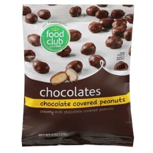 Chocolate Covered Peanuts Chocolates