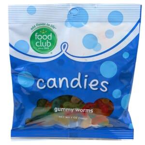 Gummy Worms Candies