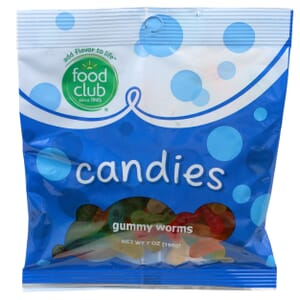 Gummy Worms Candies