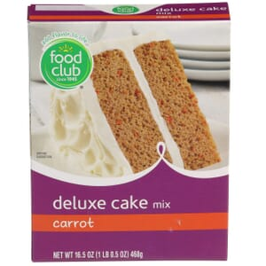Carrot Deluxe Cake Mix