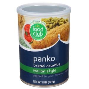 Panko Bread Crumbs, Italian Style