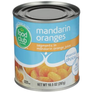 Mandarin Oranges, Segments In Mandarin Orange Juice