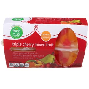 Triple Cherry Mixed Fruit