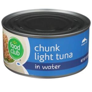 Chunk Light Tuna In Water