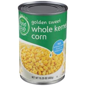 Golden Sweet Whole Kernel Corn