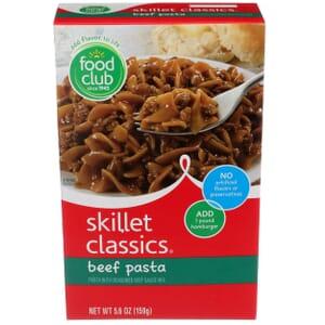 Skillet Classics,  Beef Pasta