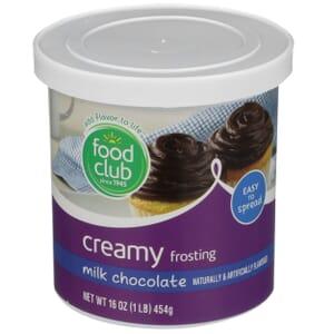 Milk Chocolate Creamy Frosting