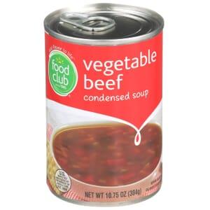 Vegetable Beef Condensed Soup