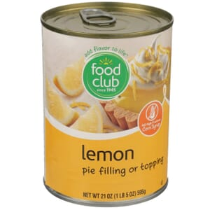 Lemon Pie Filling Or Topping