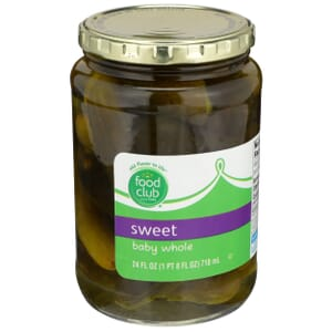 Sweet Baby Whole Pickles