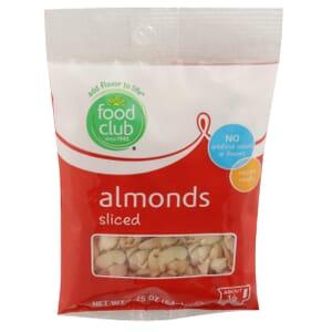 Almonds, Sliced
