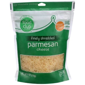 Finely Shredded Parmesan Cheese