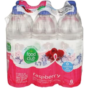 Raspberry Purified Water Beverage