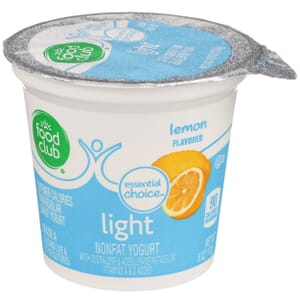 Lemon - Light Nonfat Yogurt