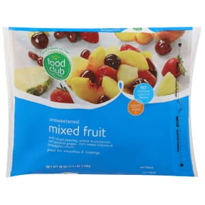 Mixed Fruit, Unsweetened