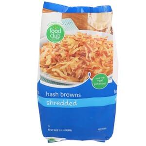 Hash Browns, Shredded