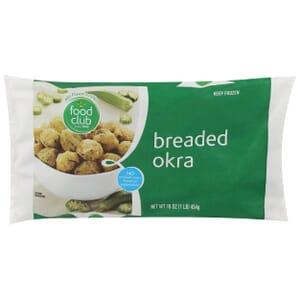 Breaded Okra