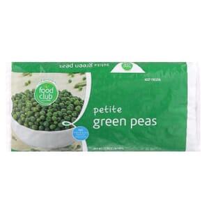 Green Peas, Petite
