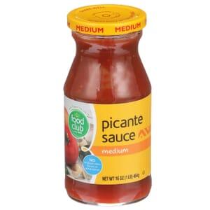Picante Sauce, Medium