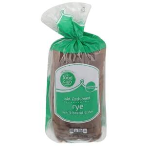 Rye Bread, Old Fashioned