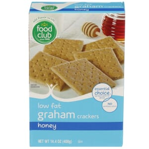Honey Graham Crackers - Low Fat