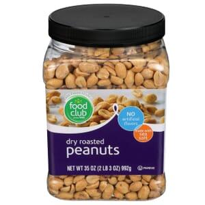 Peanuts, Dry Roasted