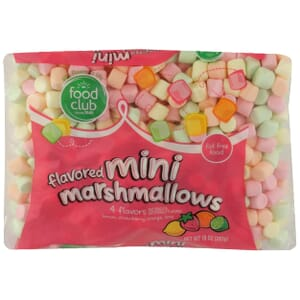 Mini Marshmallows, Flavored