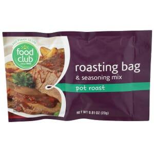 Roasting Bag & Seasoning Mix, Pot Roast