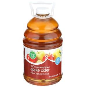 100% Unsweetened Apple Cider