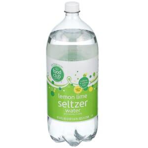 Lemon Lime Seltzer Water