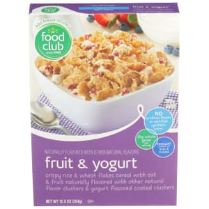 Fruit & Yogurt Cereal