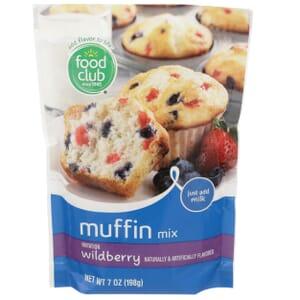 Wildberry Muffin Mix