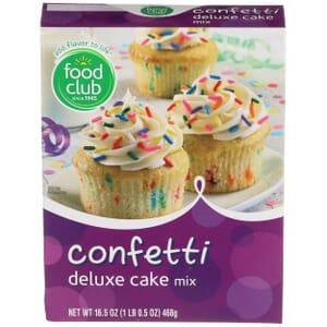 Confetti Deluxe Cake Mix