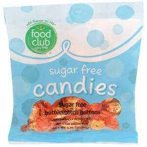 Sugar Free Candies, Butterscotch Buttons