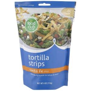 Tortilla Strips, Santa Fe Style