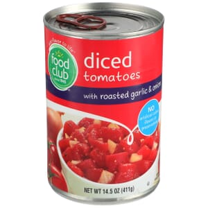 Diced Tomatoes With Roasted Garlic & Onion