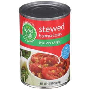 Stewed Tomatoes, Italian Style