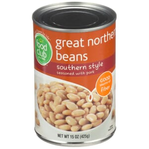 Great Northern Beans, Southern Style