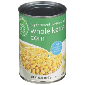 Super Sweet White & Gold Whole Kernel Corn
