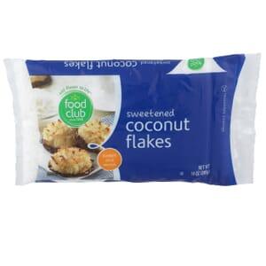 Sweetened Coconut Flakes