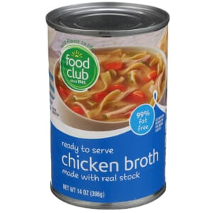 Chicken Broth, Ready To Serve