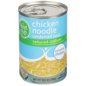Chicken Noodle Condensed Soup - Reduced Sodium