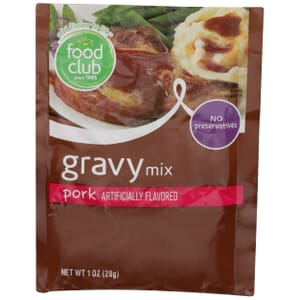 Pork Gravy Mix