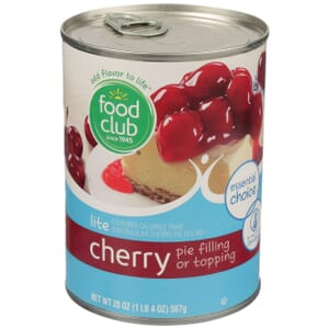 Lite Cherry Pie Filling Or Topping