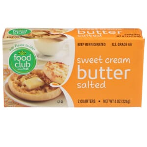 Sweet Cream Butter, Salted